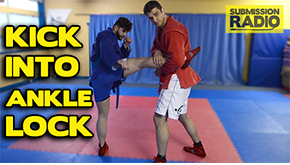 Kick into Ankle Lock VID