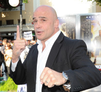"LOS ANGELES, CA - JULY 06:  Actor Bas Rutten arrives at the premiere of ""The Zookeeper"" at the Regency Village Theatre on July 6, 2011 in Los Angeles, California.  (Photo by Michael Buckner/Getty Images)"