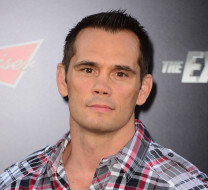 """HOLLYWOOD, CA - AUGUST 11:  Martial artist Rich Franklin attends Lionsgate Films' """"The Expendables 3"""" premiere at TCL Chinese Theatre on August 11, 2014 in Hollywood, California.  (Photo by Frazer Harrison/Getty Images)"""